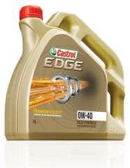 Olej CASTROL EDGE 0W40 4L