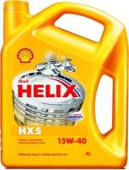 Olej SHELL HELIX HX5 15W40 4L