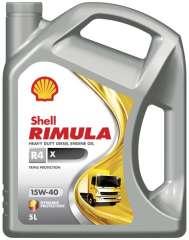 Olej SHELL RIMULA R4 X 15W40 5L