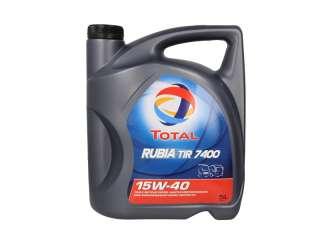 Olej TOTAL RUBIA 7400 15W40 5L