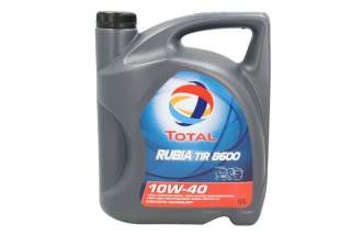 Olej TOTAL RUBIA 8600 10W40 5L