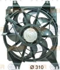 Wentylator chłodnicy silnika HELLA 8EW 351 034-671