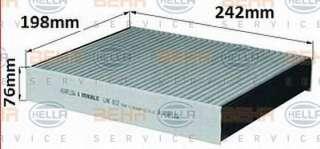 Filtr kabiny HELLA 8FL 351 029-401