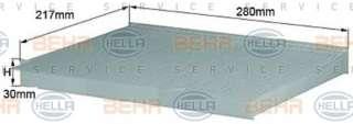 Filtr kabiny HELLA 8FL 352 214-011