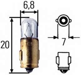 Żarówka oświetlenia wnętrza HELLA 8GP 002 066-121
