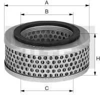 Filtr powietrza systemu pneumatycznego MANN-FILTER C 33 009