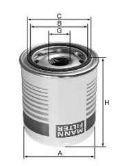 Wkład filtra powietrza systemu pneumatycznego MANN-FILTER TB 1396 x