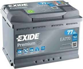 Akumulator rozruchowy EXIDE EA770