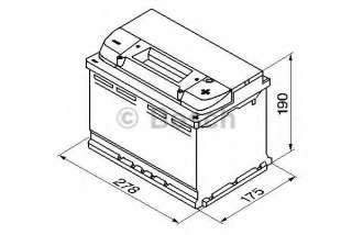Akumulator rozruchowy BOSCH 0 092 S40 080