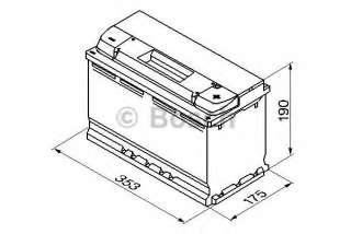 Akumulator rozruchowy BOSCH 0 092 S50 130
