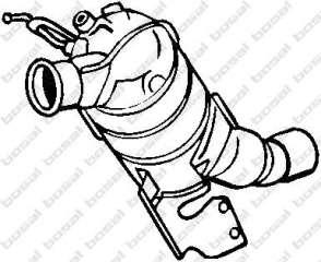 Filtr sadzy układu wydechowego BOSAL 097-206