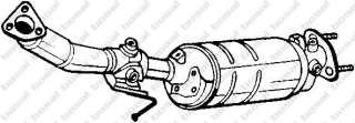 Filtr sadzy układu wydechowego BOSAL 097-211
