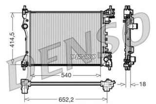 Chłodnica silnika DENSO DRM01005