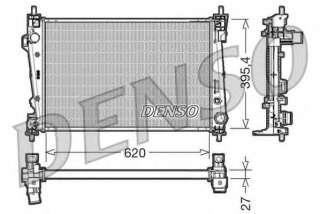 Chłodnica silnika DENSO DRM01007