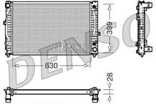 Chłodnica silnika DENSO DRM02031