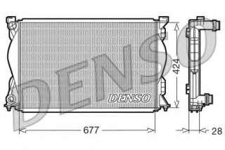Chłodnica silnika DENSO DRM02036