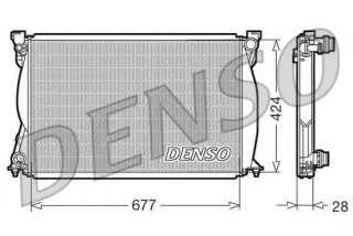 Chłodnica silnika DENSO DRM02038