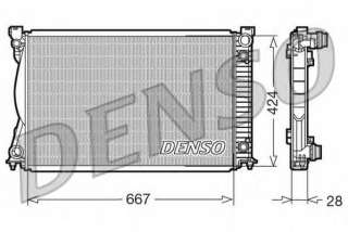 Chłodnica silnika DENSO DRM02039
