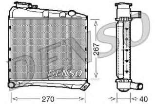 Chłodnica silnika DENSO DRM03020