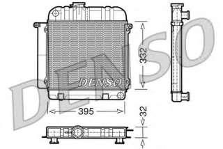 Chłodnica silnika DENSO DRM05010