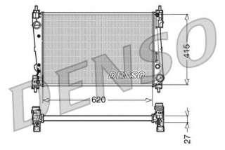 Chłodnica silnika DENSO DRM09111