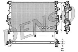 Chłodnica silnika DENSO DRM10077