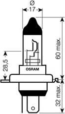 Żarówka OSRAM 64185
