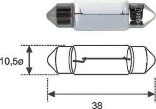 Żarówka oświetlenia wnętrza MAGNETI MARELLI 009418100000