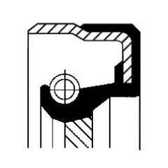 Uszczelniacz wałka atakującego CORTECO 01019290B