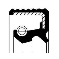 Uszczelniacz wałka manualnej skrzyni biegów CORTECO 01019451B