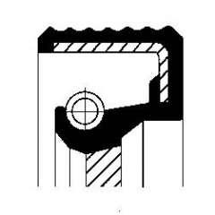 Uszczelniacz wałka manualnej skrzyni biegów CORTECO 01019483B