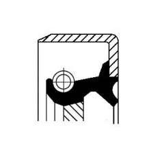 Uszczelniacz wałka manualnej skrzyni biegów CORTECO 12011454B