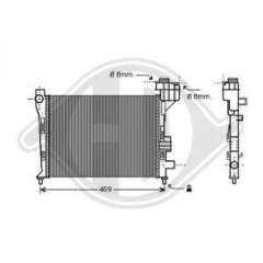 Chłodnica silnika DIEDERICHS 8121180