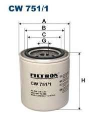 Filtr środka chłodzącego FILTRON CW751/1