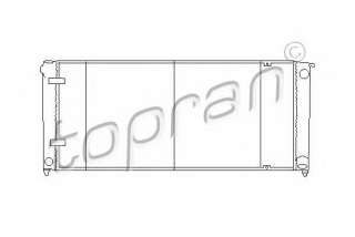 Chłodnica silnika TOPRAN 102 724