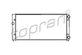 Chłodnica silnika TOPRAN 103 004