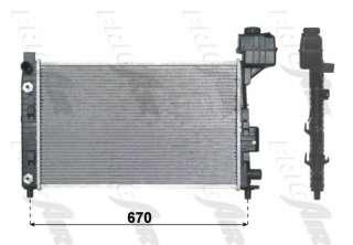 Chłodnica silnika FRIGAIR 0106.3005