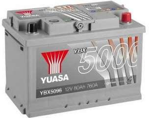 Akumulator rozruchowy YUASA YBX5096