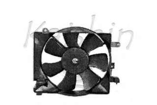 Chłodnica silnika KAISHIN 96181889