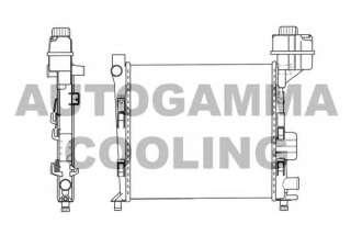 Chłodnica silnika AUTOGAMMA 101358