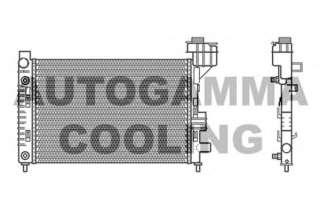 Chłodnica silnika AUTOGAMMA 102000