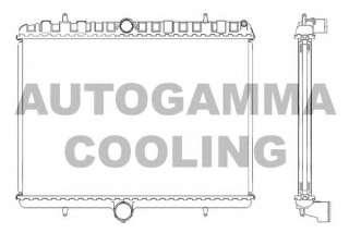 Chłodnica silnika AUTOGAMMA 105123